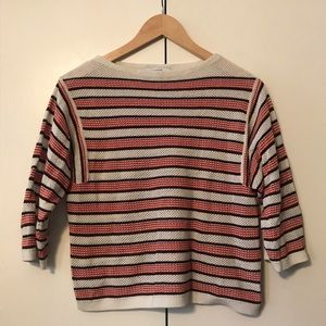 & Other Stories Striped Sweater Top